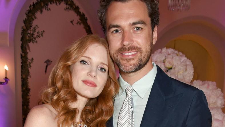 Jessica Chastain is married to Italian Fashion exec