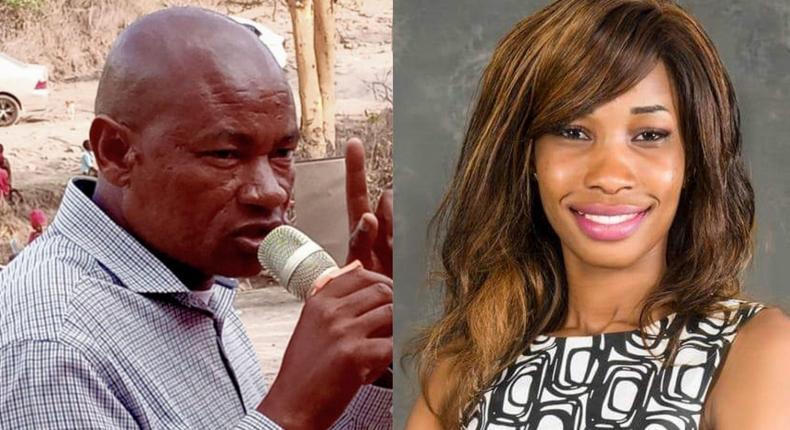 Juja MP seat aspirants J. M. Kariuki and Eunice Wawily wa Mugo