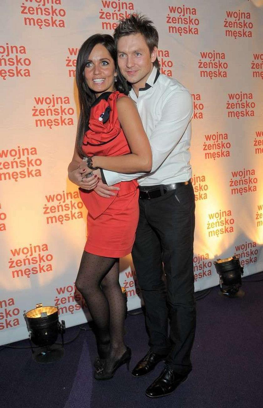 Damian Gorawski i Anna Prus