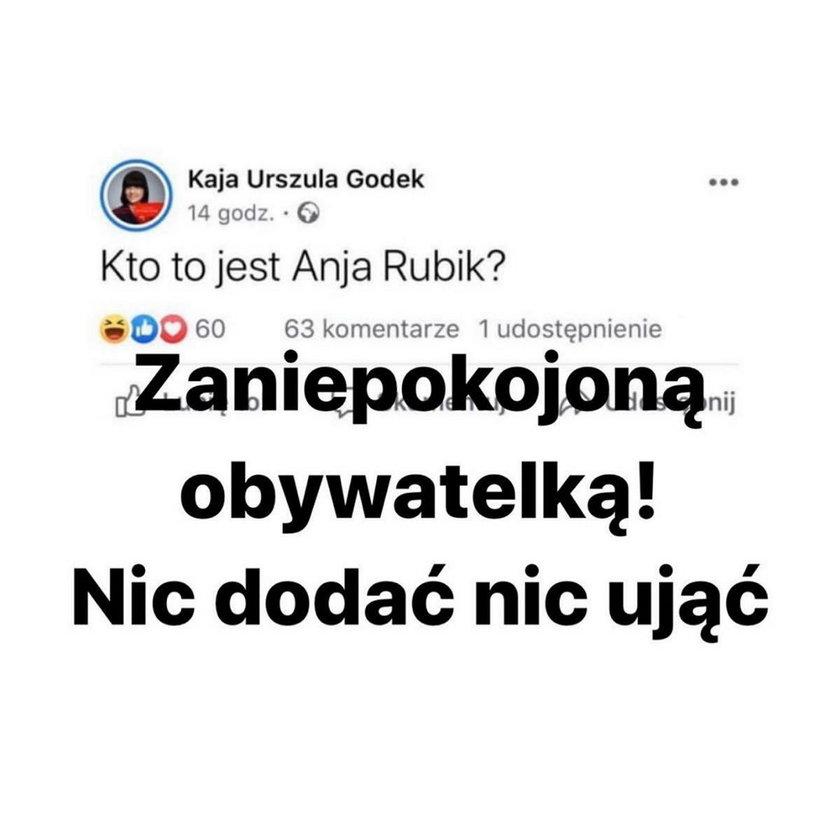 Anja Rubik i Kaja Godek