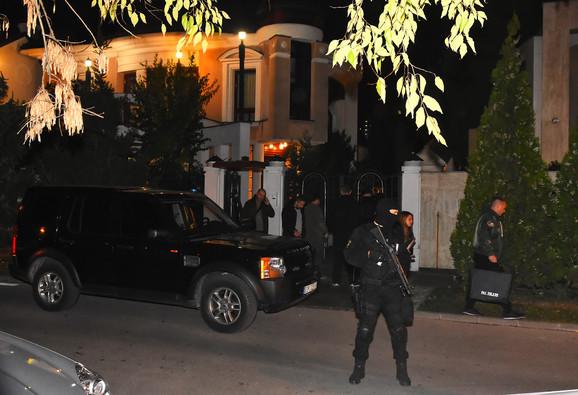 Radoslav Cvijović Cvike uhapšen je u porodičnoj kući u Novom Sadu