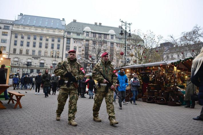 Increased security at Christmas market in Hungary