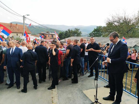 Vučić na Kosovu