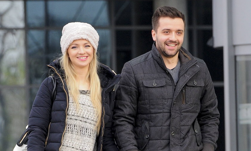 Barbara Kurdej-Szatan z mężem Rafałem