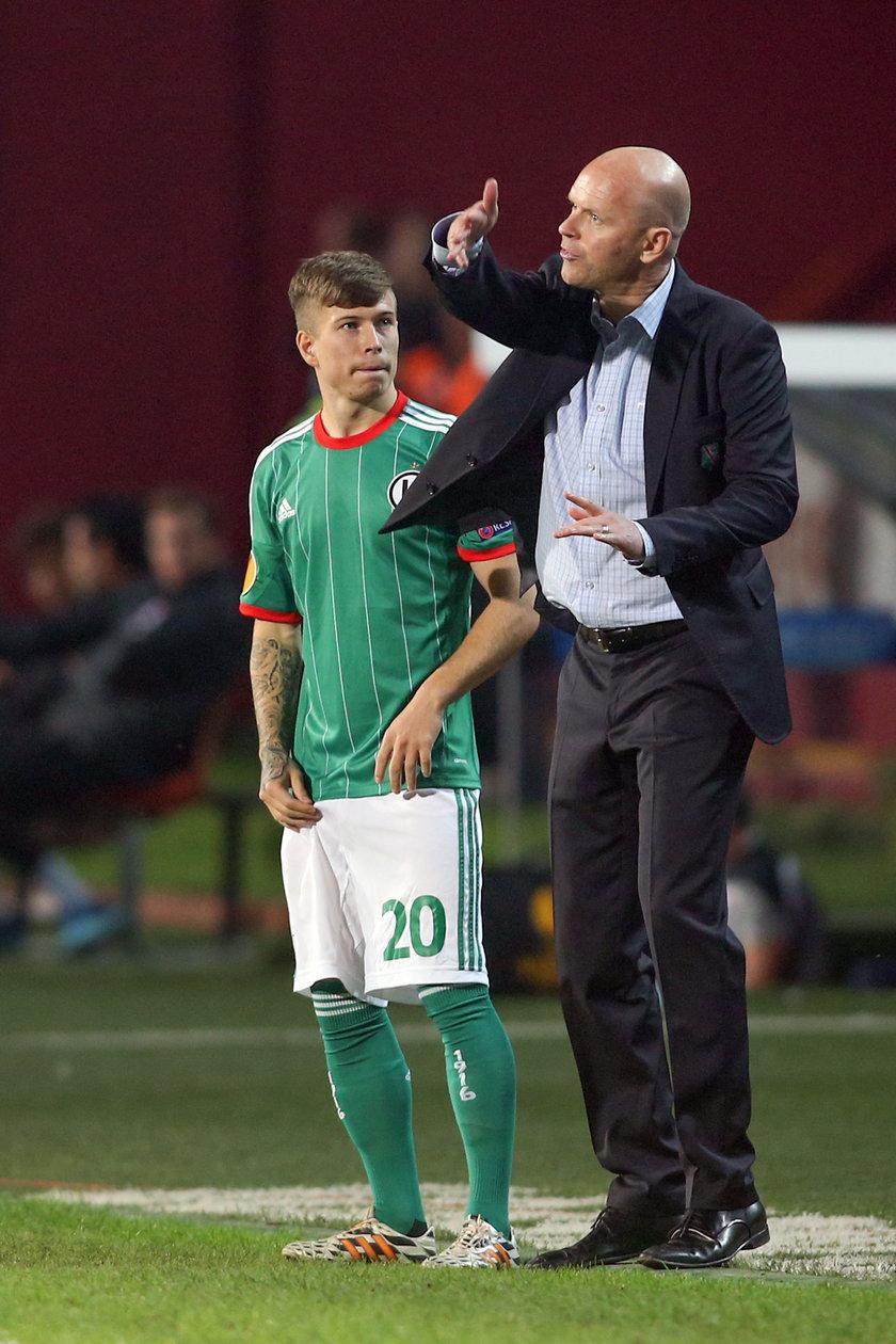 Henning Berg miesza w składzie Legii. Czy wyjdzie to na dobre?