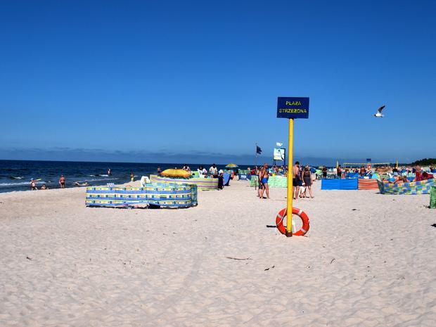 Plaża w Rogowie