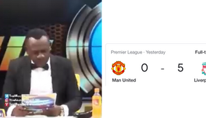 Akrobeto's reaction to Manchester United's 5-0 defeat featured on popular British troll network