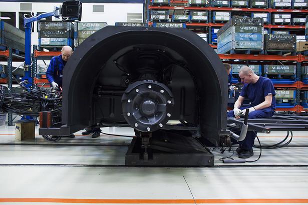 Montaż autobusów Volvo w fabryce we Wrocławiu (2)