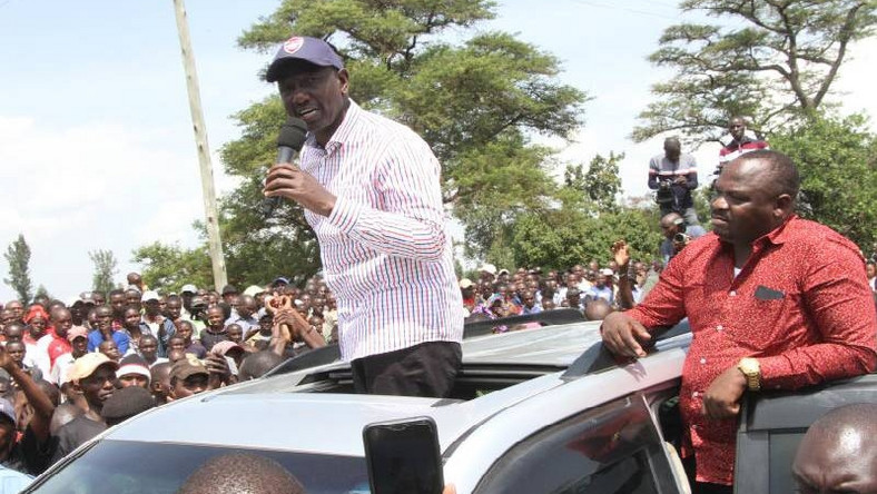 DP Ruto addressing the youth in Kehancha A group of rowdy youth disrupted his event in Migori on Saturday, 06 July 2019