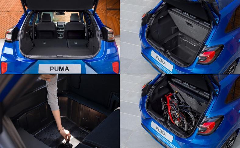 Po opuszczeniu pokrywy schowka MegaBox, może on być wykorzystywany do przewozu zabrudzonego sprzętu sportowego lub ubłoconych butów. Syntetyczna tapicerka tej wnęki oraz korek odpływowy w dnie umożliwiają umycie wnętrza wodą