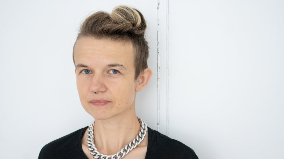"""Dr Joanna Ostrowska, autorka książki """"Oni. Homoseksualiści podczas II wojny światowej"""""""
