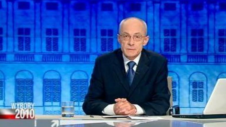 Grzegorz Dobiecki na antenie Polsat News