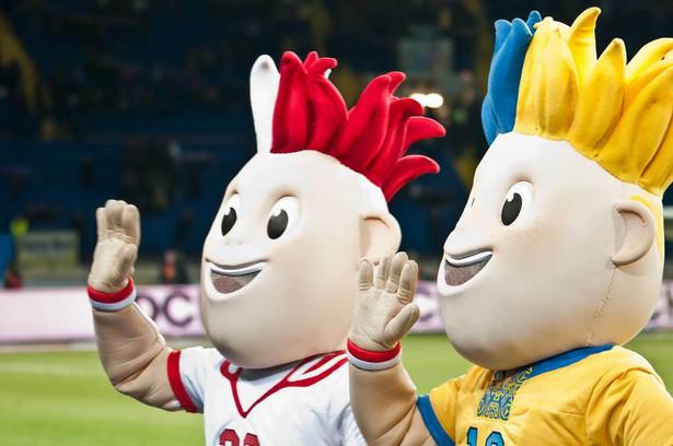 Slavek i Slavko - oficjalne maskotki Mistrzostw Europy w Piłce Nożnej EURO 2012.