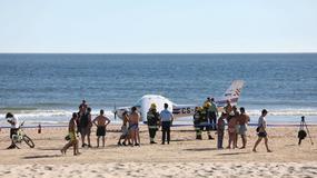 Samolot awaryjnie lądował na plaży. Dwie osoby nie żyją