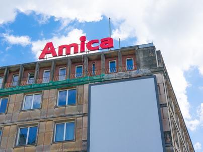 Nowy magazyn Amici jest w pełni zautomatyzowany