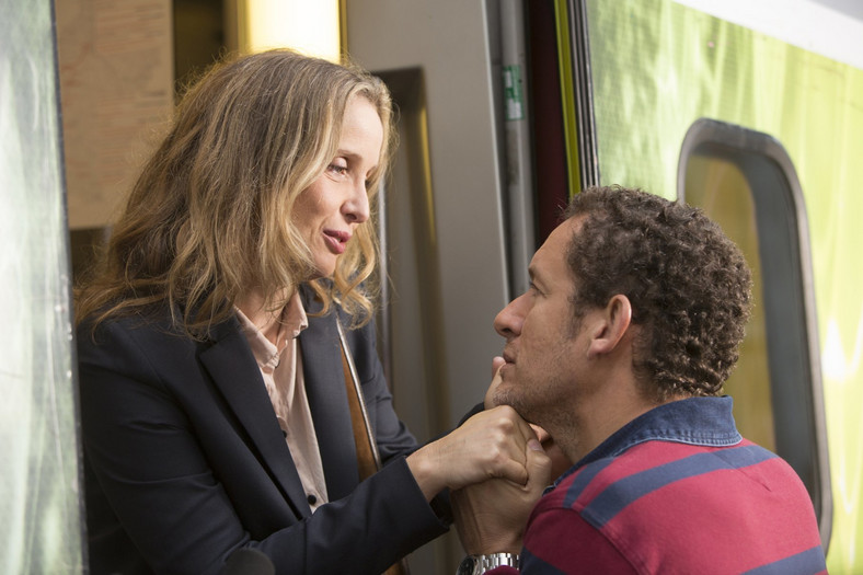 """Julie Delpy i Dany Boon w filmie """"Lolo"""""""