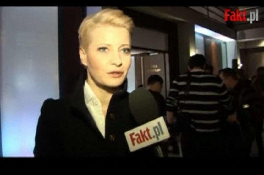 Kożuchowska dla Faktu: Słodkie blondynki są... WIDEO