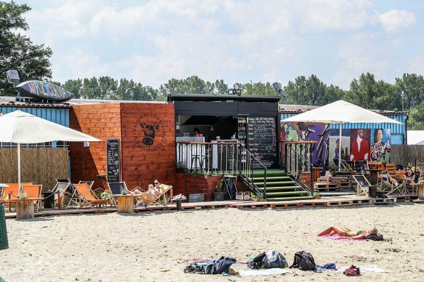 Zalew Bagry przyciąga plażowiczów