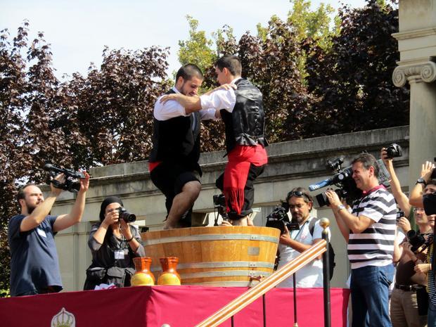 Fiesta w Logrono