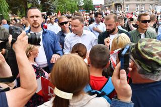Duda: Organizacja debaty prezydenckiej przez TVN i portale internetowe to 'gangsterstwo polityczne'