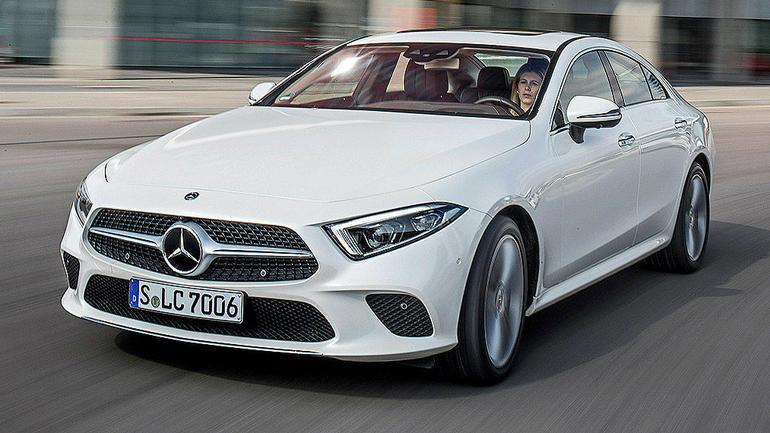 Mercedes CLS - szlachetniejsza wersja klasy E