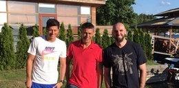 Wakacje gwiazd polskiego sportu. Lewandowski, Gortat i Hołowczyc razem! ZOBACZ