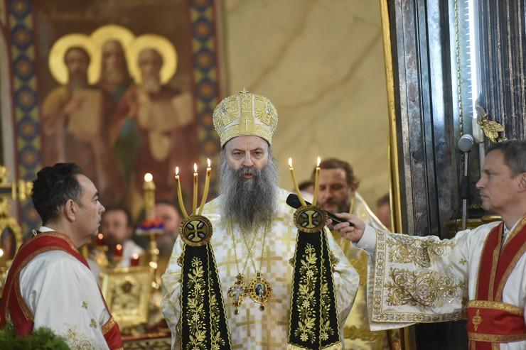 ustolicenje patrijarha Porfirija Saborna crkva screenshot