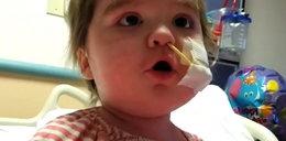 Ta dziewczynka jest poważnie chora. Zobacz, co daje jej siłę