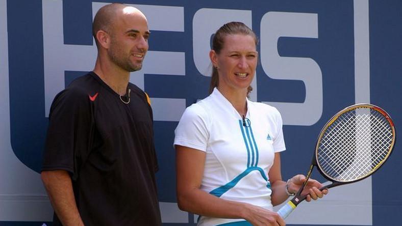 Andre Agassi i Steffi Graf