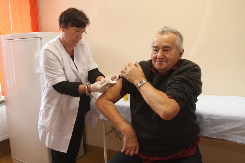Darmowe szczepienia przeciw grypie