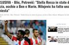 """EKSKLUZIVA ITALIJANSKIH MEDIJA """"Blicov"""" novinar intervjuisan pred duel Zvezde i Napolija"""