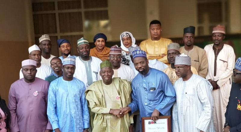 BON 2019: Gov Ganduje promises to make history with movie awards