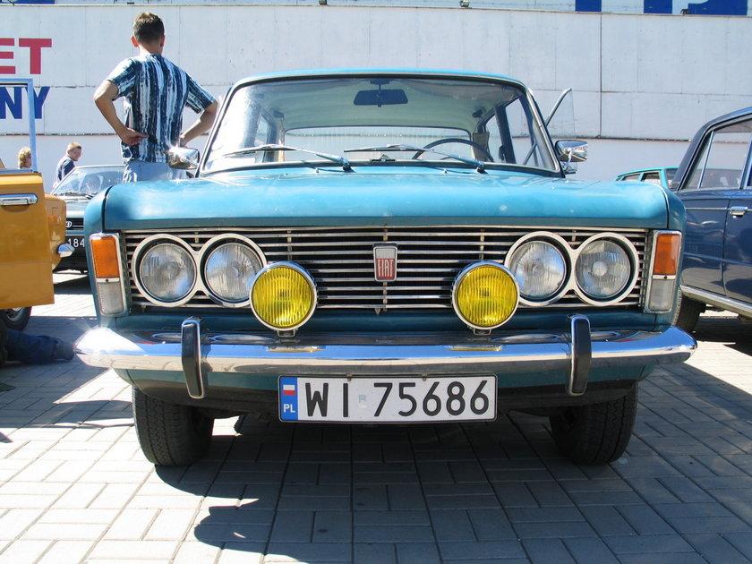W sobotę na warszawskim Żeraniu spotkają się miłośnicy Fiatów 125p. Pooglądać będą je mogli wszyscy warszawiacy