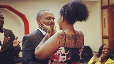 Ben Kitili's wife opens up on rare condition she has been battling after giving birth