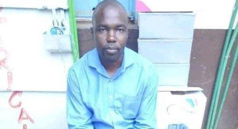 Patrick Ayoyi who was caught in the sex tape shared online