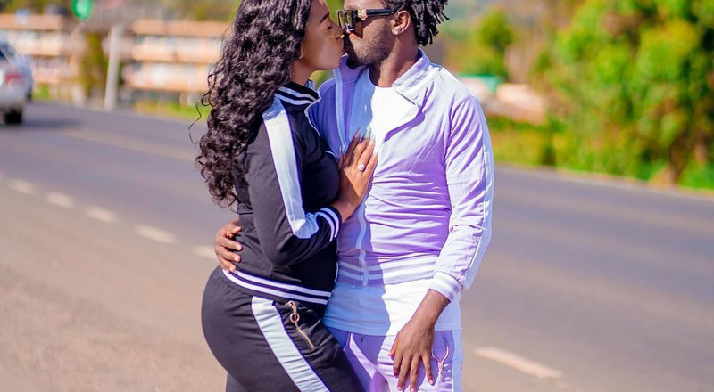 You have walked with me through this Journey to being a Man – Bahati to wife Diana Marua