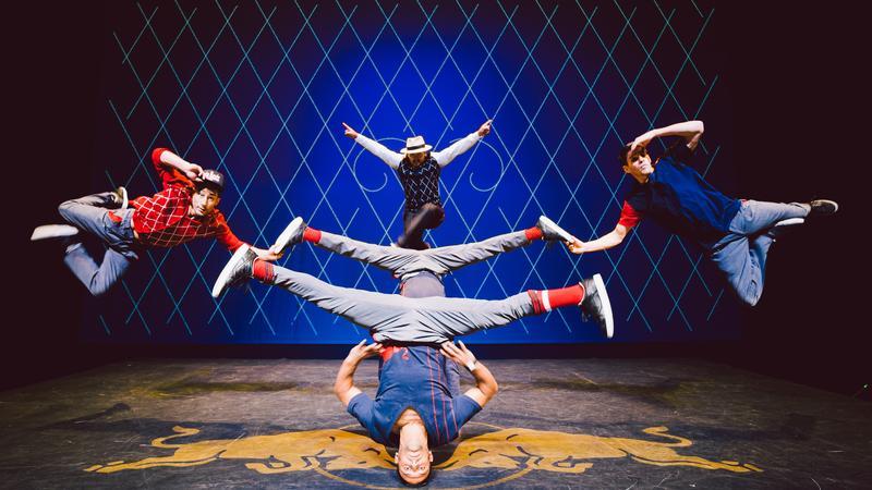 Ekipa Flying steps podczas występu w Houston (fot. Red Bull Content Pool)