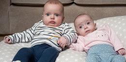 Będąc w jednej ciąży zaszła w drugą! Te bliźniaki różni 3 tygodnie