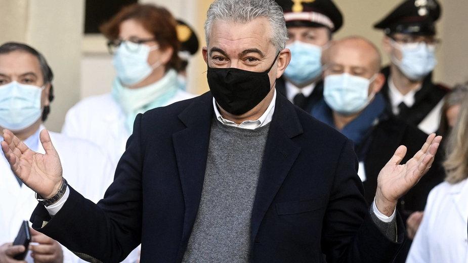 Nadzwyczajny komisarz ds. kryzysu na tle pandemii Domenico Arcuri