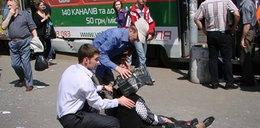 Cztery zamachy na Ukrainie. Krew, płacz, krzyki i ofiary