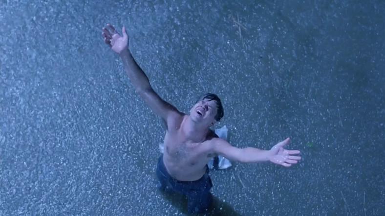 "Niezapomnany kadr z filmu ""Skazani na Shawshank"""