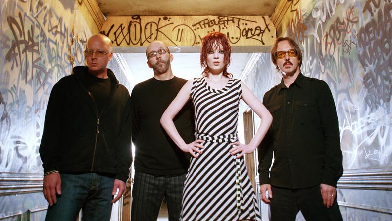 Shirley Manson z zespołem Garbage