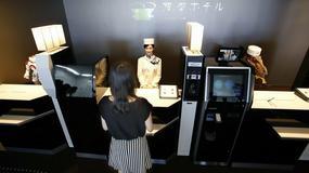 Japonia - hotel obsługiwany przez roboty