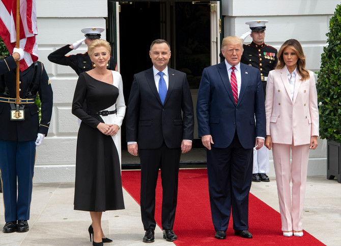 Trampovi su ugostili predsednika Poljske