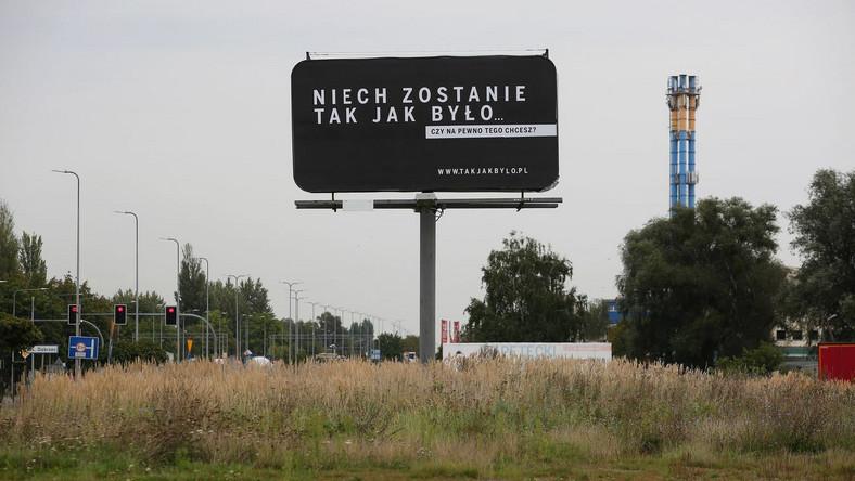 """Billboard kampanii """"Sprawiedliwe sądy"""""""