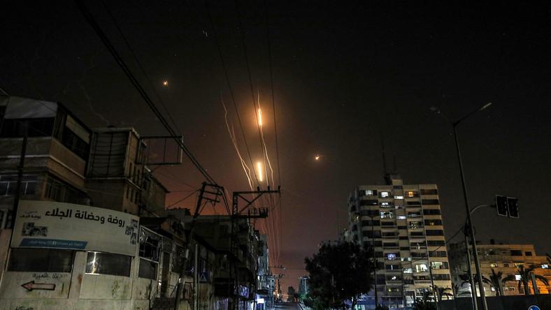 Gaza po izraelskim ataku