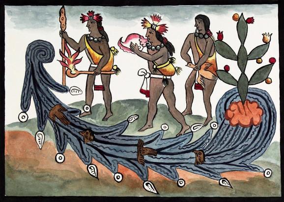 Astečki ritual prizivanja kiše