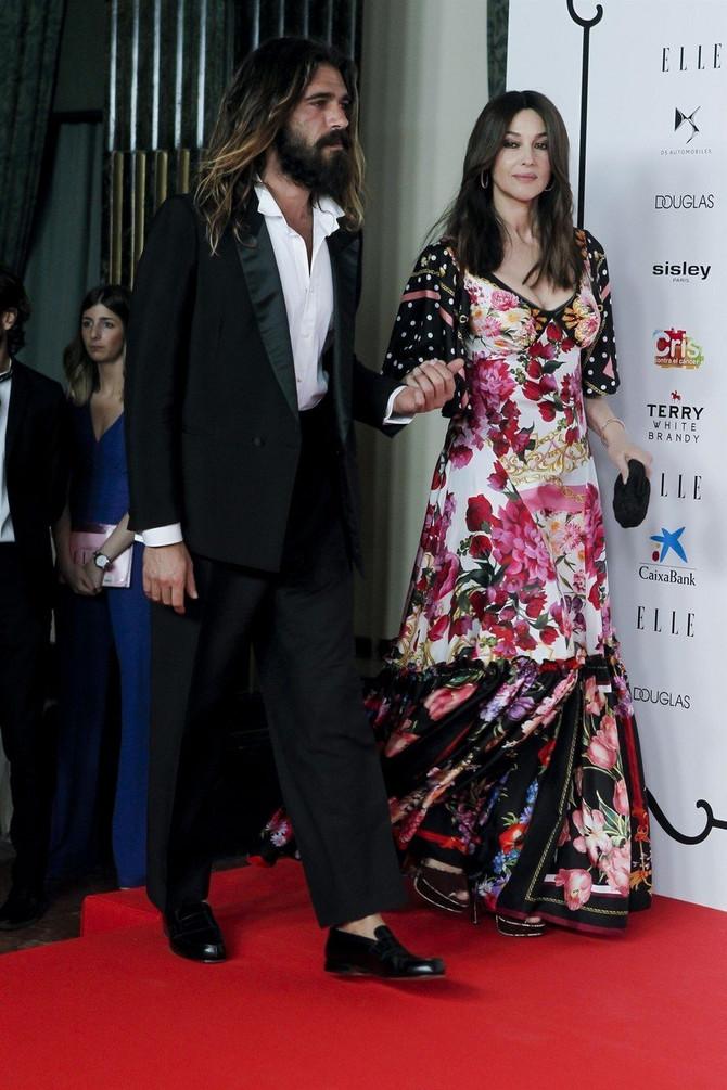 Monika Beluči i Nikolas Lefebvre na svečanosti u Madridu