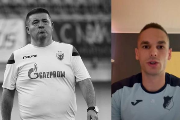 """""""Dobri moj, Žoze..."""" Nikad emotivniji Mijat Gaćinović se DIRLJIVOM PORUKOM oprostio od Kosanovića: Ne mogu da verujem da ovo snimam! /VIDEO/"""