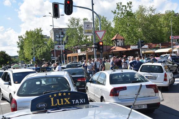 Opšti haos na Novom Beogradu
